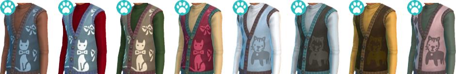 Original Ugly Cats Vest