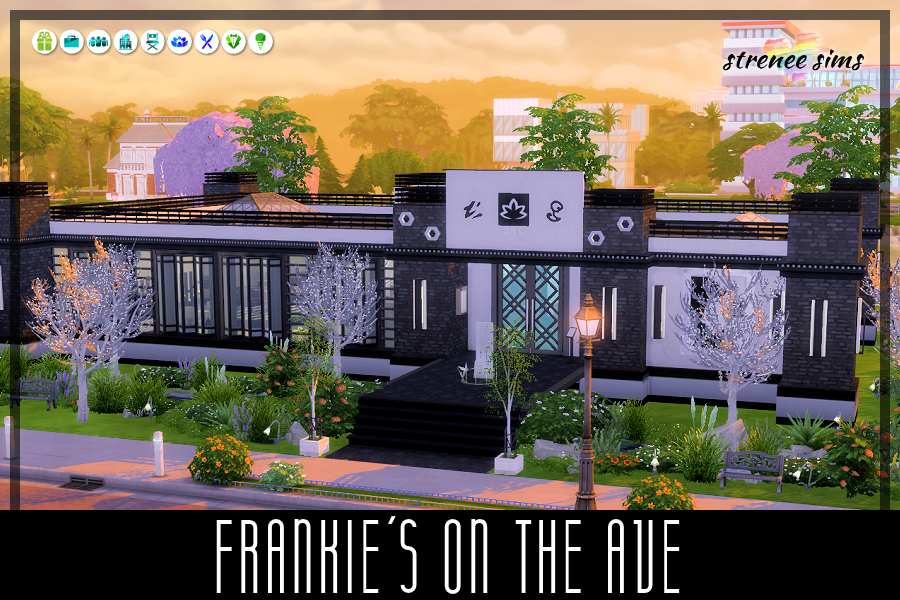 Frankie's On the Ave | Frankie's on the Ave provides the best of the best for only the best! #ts4 #sims4 #sims4dineout | www.streneesims.com