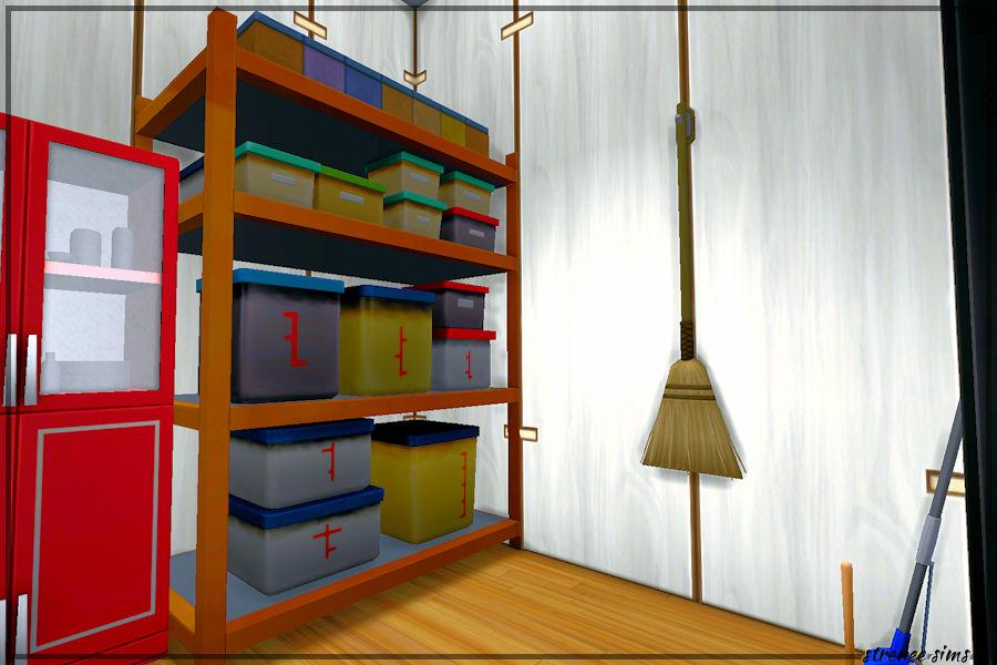 Sims 4 Railcar: The Mainline - Storage Closet