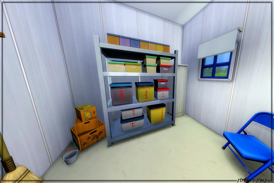 The Royal Fork Storage Closet