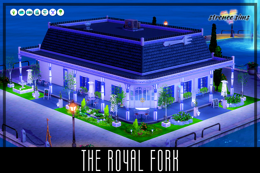 The Royal Fork: A Family Restaurant | From the beginning, The Fork & Spoon has provided value and excellence to it's customers. #ts4 #sims4 #sims4dineout | www.streneesims.com
