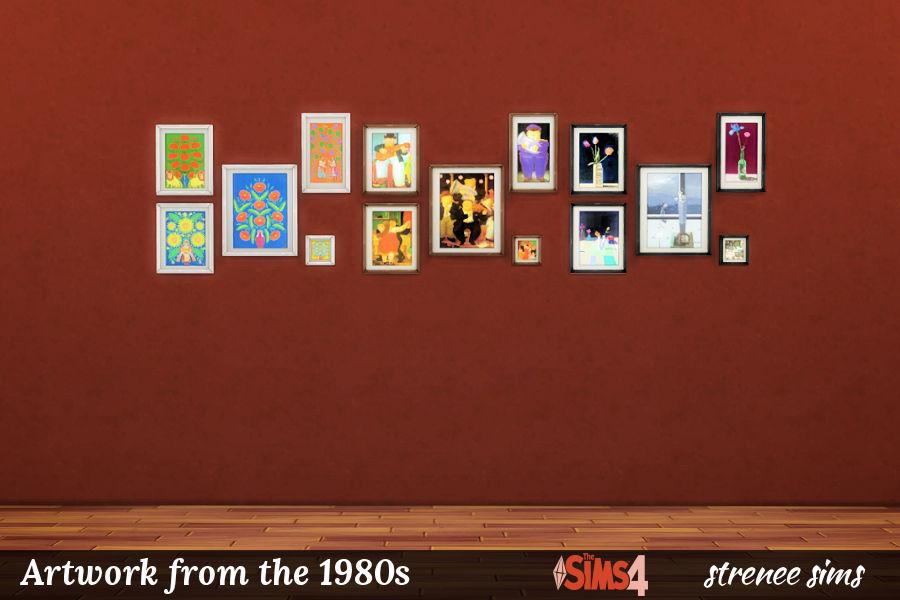 BG Art 1980s Collages