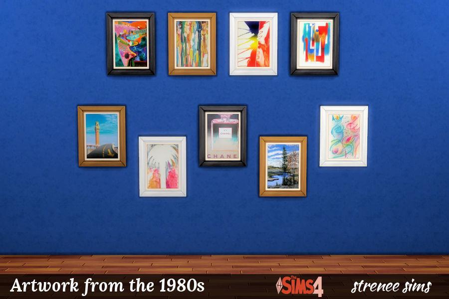 BG Art 1980s Portraits