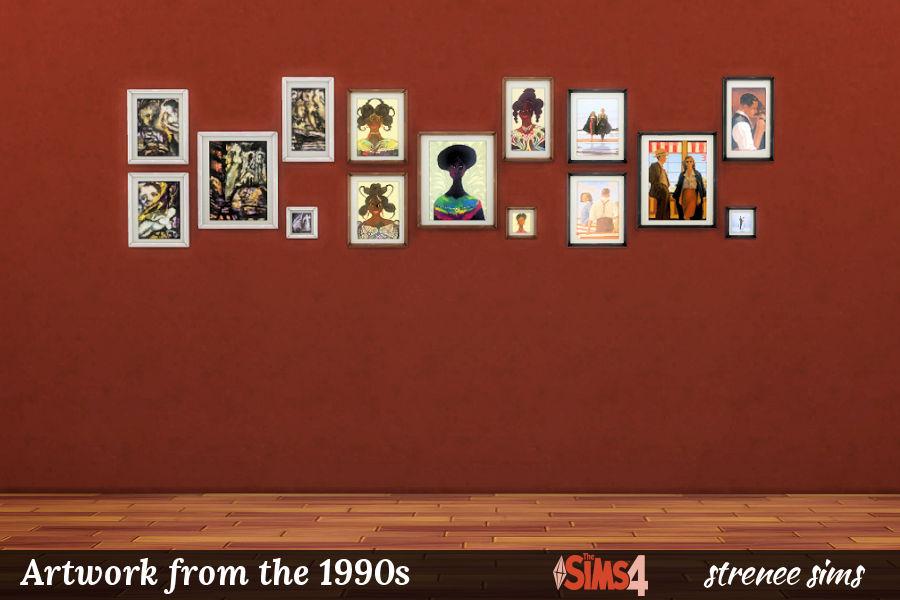 BG Art 1990s Collages