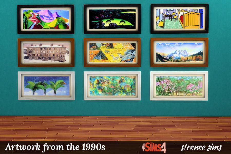 BG Art 1990s Landscapes