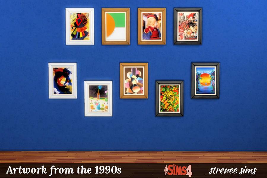 BG Art 1990s Portraits