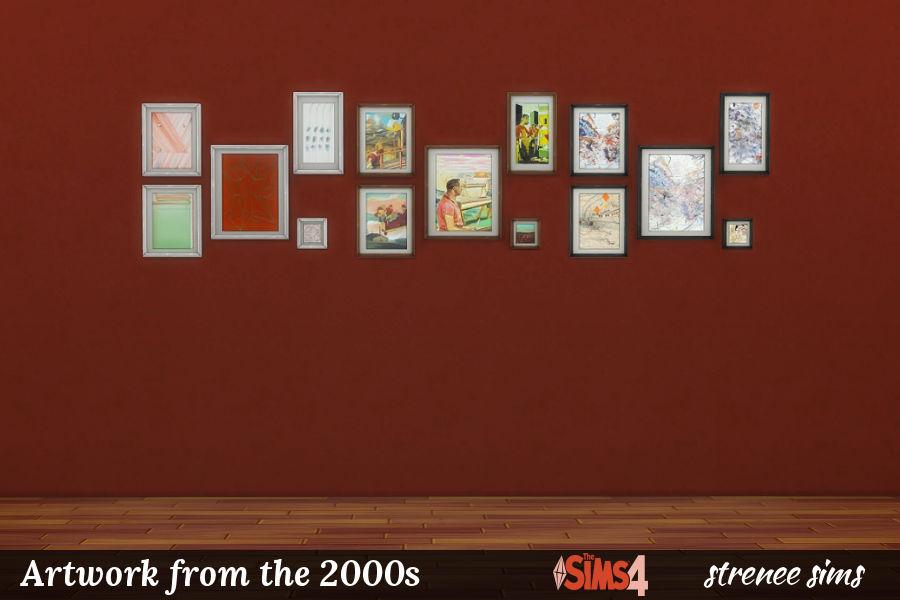 BG Art 2000s Collages
