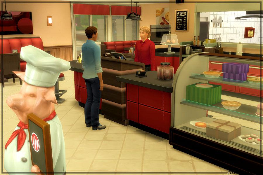 VIPs Diner Hosting Station