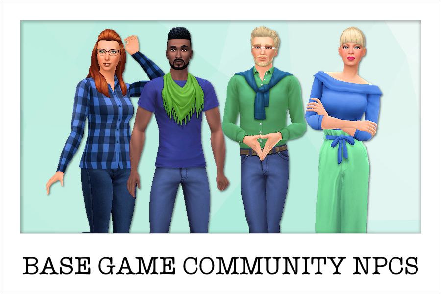 Base Game Community NPCs