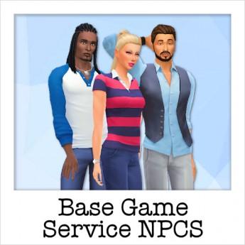 Base Game Service NPCs insta