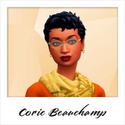 CD - Corie Beauchamp - NPC - Vendor