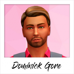Dominick Gore - Base Game Service Sims: - Firefighter
