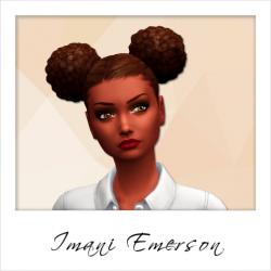 Imani Emerson - NPC - Weirdo - Set 2