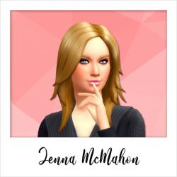 Jenna McMahon - NPC - Weirdo - Set 2