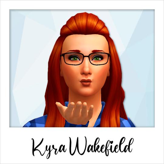 Kyra Wakefield - Base Game Community Sims - Fisherwoman
