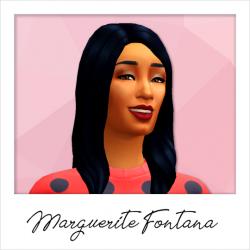 Marguerite Fontana - Base Game Service Sims: Maid