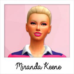 Mirana Keene - Base Game Service Sims: Gym Trainer