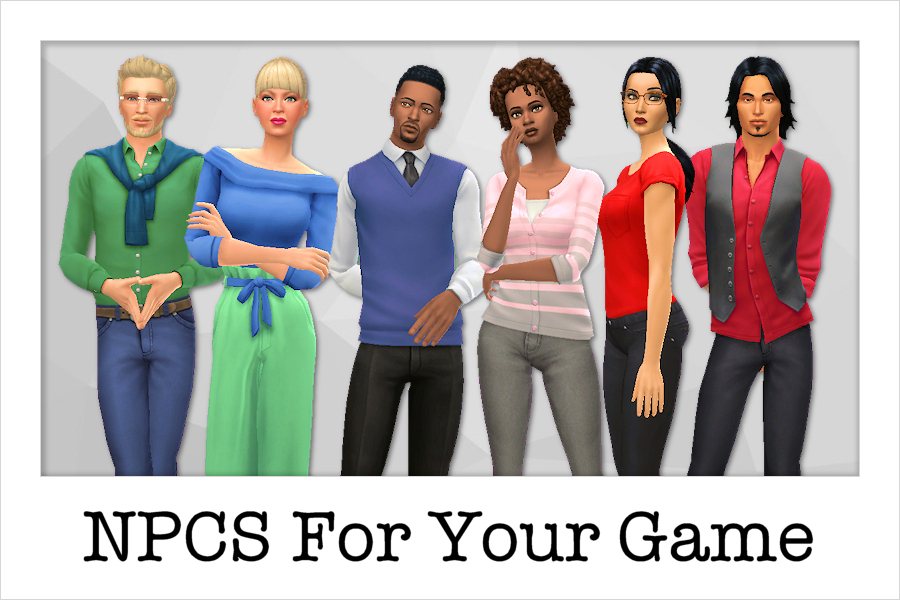 NPCs For Your Game