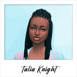 Talia Knight - NPC - Weirdo - Set 1