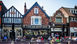 The Oxford Inn - Inspiration for The Flying Pig Pub