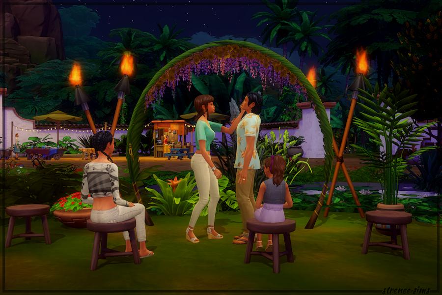 Tree Top Bar & Grill - Wedding Arch