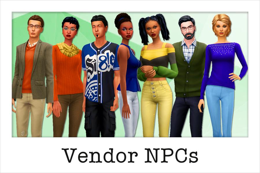 Vendor NPCs