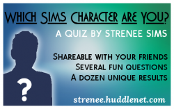 Which Sims Character Are You?